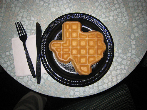 Just in case I move... Texas-waffle